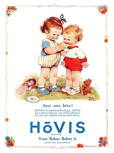 hovis-one-little-bite-metal-sign-placa-decorativa-de-pared-15-x-20