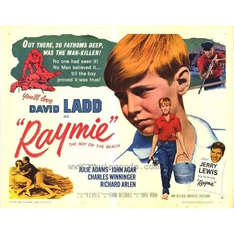 Raymie Poster Film B metà, 22 x 28, 56 x 72 cm, serie: David Ladd Julie John Adams Agar Charles Winninger Richard Arlen