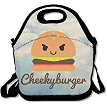 Printing Lunch Box Cheeky Burger Lunch Bag