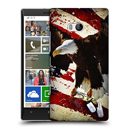 Head Case Designs Ufficiale Jason Bullard Il Prezzo Della Libertà America Cover Retro Rigida per Nokia Lumia Icon/929/930