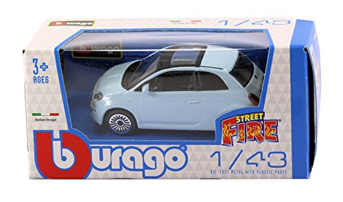 new-burago-1-43-diecast-model-car-burago-street-fire-range-fiat-500-3dr-in-light-blue