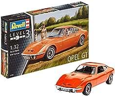 Revell Maqueta Opel GT, Kit Modelo, Escala 1:32 (7680)(