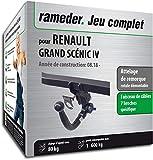 Rameder Attelage rotule démontable pour Renault Grand SCÉNIC IV + Faisceau 7...