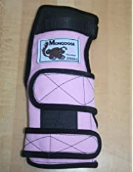 Mongoose Lifter Bowling Wrist Support Right Hand, Extra Small, Pink by Mongoose Products