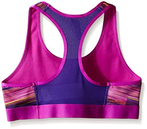 Soutien-gorge de sport fantaisie Under Armour pour fille, Fille, Novelty Armour Purple Sky/Purple Sky