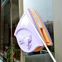 Doble cara cepillo de limpieza rascador para limpiaparabrisas de ventana de cristal magnético