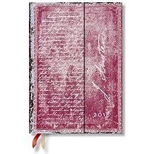 Paperblanks - Faszinierende Handschriften Jane Austen, Persuasion - Kalender 2018 Midi Wochenüberblick Vertikal - deutschsprachige Ausgabe