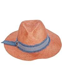 GSAYDNEE Sombrero de Paja de Playa para Mujer con Protector Solar de  Vaquero UV 31a78db5fc0