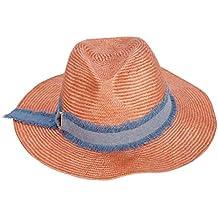 Lieyliso Sombrero de Paja de Playa para Mujer con Protector Solar de  Vaquero UV c1b2fafc09b