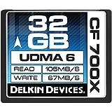Delkin Devices  Carte mémoire CompactFlash 700x 32 Go
