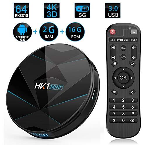 Sofobod HK1 Mini+ TV Box Android 9 0 TV Box 64 bits 2GB RAM 16GB ROM  2 4G/5G Dual WiFi BT4 0 H 265 Decoding HD 4K TV Box