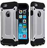 iPhone 5C Hülle, robuste Tough Dual Layer Armor Case iPhone 5C Schutzhülle Stoßfest Schutzhülle Cover für iPhone 5C [Heavy Duty] [Slim Hard Case von Reichlich®]