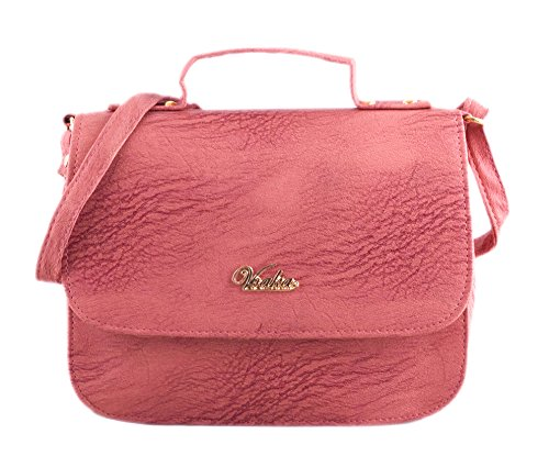 Voaka Women's Dark Peach Sling Bag