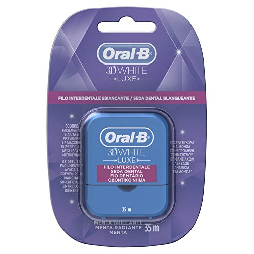 Oral-B 3D White Luxe Seda Dental Menta Radiante - 20 gr, 35...