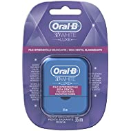 Oral-B - 3D White Luxe - Seda dental Menta radiante - 35 m