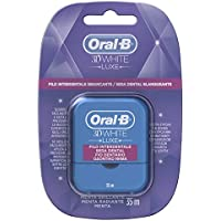 Oral-B 3D White Luxe Seda Dental Menta Radiante - 20 gr