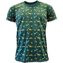 Luanvi Edición Limitada Camiseta técnica Dinos, Hombre, Verde, ...