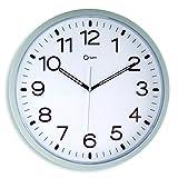 CEP Reloj de Pared, 40 cm, Color Gris, 40x40x5 cm