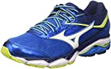 Mizuno Wave Ultima, Chaussures de Running Homme, Multicolore (Directoireblue/White/Safetyyellow), 42 EU