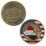 Amarzk Saint George Bagdad Operation Irakische Freiheit Gedenk Herausforderung Münzen Geschenk