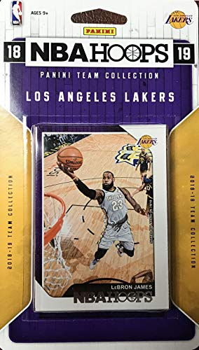 230d4309b50 Los Angeles Lakers 2018 2019 Hoops Factory Sealed 11 Card Team Set with  Moritz Wagner Rookie
