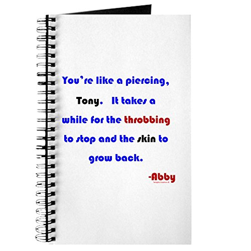 "CafePress Notizbuch mit Spiralbindung, englische Aufschrift\""You\'re Like A Piercing\"", liniert"