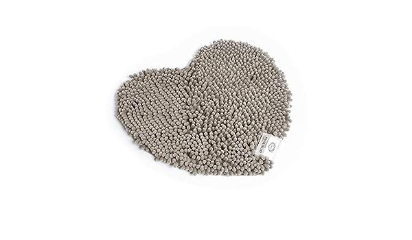 55 Sophie Maison Passatello Cuore Tappeto Grigio 100/% PES Microfibra