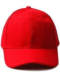 Accessoryo - plaine unisexe baseball rouge casquette de style