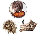 Yanhonin Catnip - Bola de Hierba para Gato - Cataire - Bio - para Masticar - para Animales domésticos