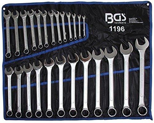 BGS 1196 Maulringschlüssel-Satz, 6-32 mm,DIN 3113A, 25-tlg.