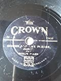 """Dinner For One, Please James / Turning Homewards [9"""" shellac 78 rpm]"""