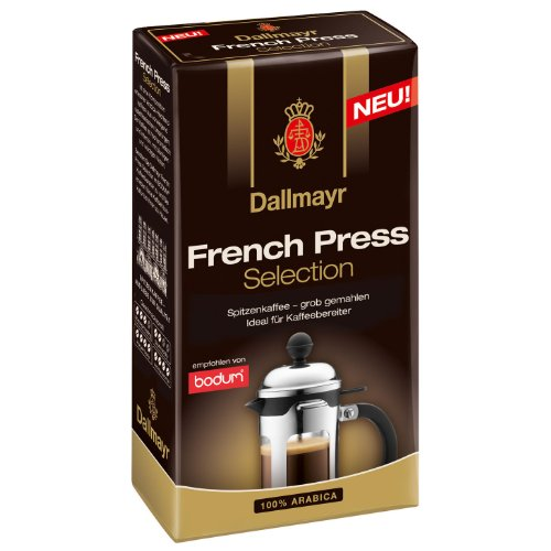 Dallmayr Kaffee French Press Selection, grob gemahlen, 250g