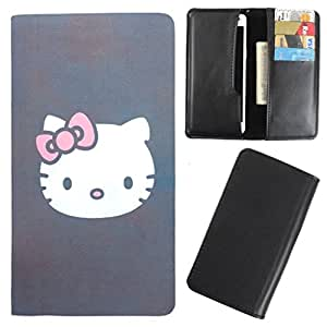 DooDa - For Wickedleak Wammy Note 5 PU Leather Designer Fashionable Fancy Case Cover Pouch With Card & Cash Slots & Smooth Inner Velvet