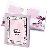 Disney Baby - Álbum de fotos/diario con marco en la cubierta - Regalo ideal para bautizos y cumpleaños