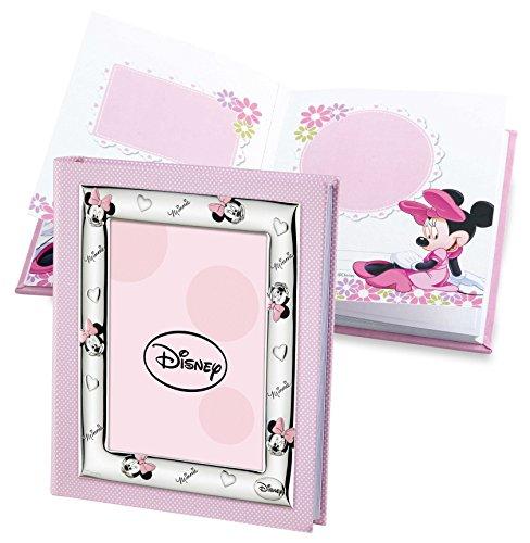 Disney baby minnie mouse - album diario fotografico porta foto per regalo battesimo neonato o compleanno bambini