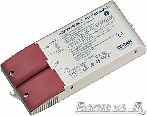 OSRAM PTi EVG Vorschaltgerät für 150 Watt CDM HCI HQI HID Powertronic Intelligent