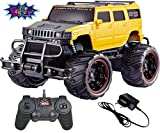 #10: Saffire Off Road Passion 120 Monster Racing Car, Yellow