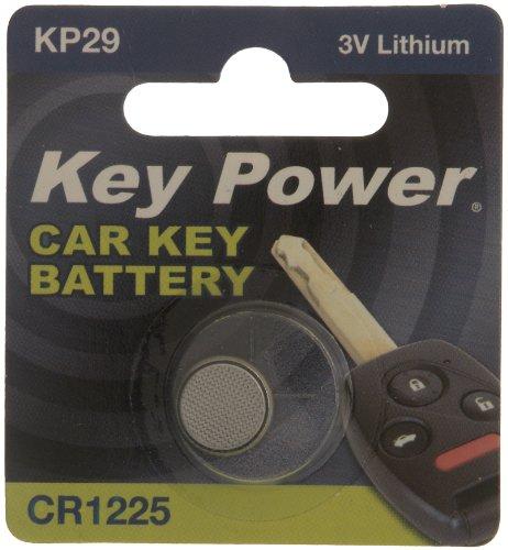 Key Power CR1225 Pile au-KP Pile au Lithium pour clé de voiture 3 V