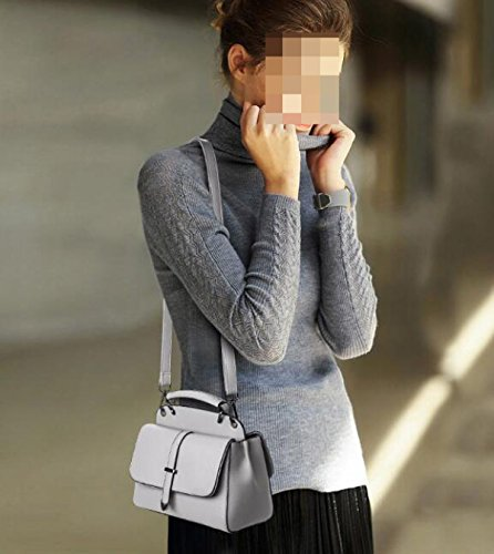 Art Und Weise Wilde Schulter Schräge Querhandtasche Gray