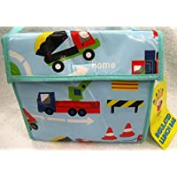 CHILDREN BOYS LUNCH BAG ROAD WORKS TRAFFIC HAND BAG / STRAP / INSULATED LUNCH BAG / SCHOOL BAG BLUE CARS by ROAD WORKS preisvergleich bei kinderzimmerdekopreise.eu