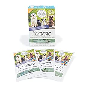 PetSafe Piddle Place Pet Potty Bio+ Concentrate, 3 pack, Odour Removal, Neutralise Pet Waste 10