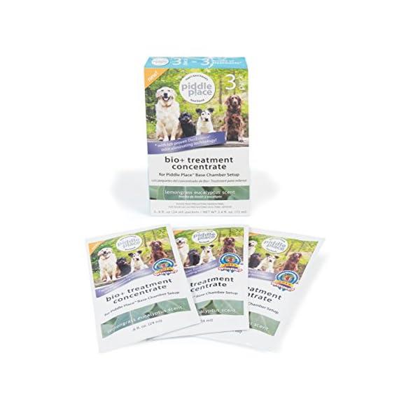 PetSafe Piddle Place Pet Potty Bio+ Concentrate, 3 pack, Odour Removal, Neutralise Pet Waste 1