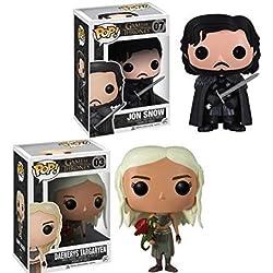 Funko POP! Juego de Tronos: Daenerys Targaryen + Jon Snow