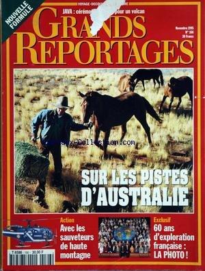 GRANDS REPORTAGES [No 166] du 01/11/1995