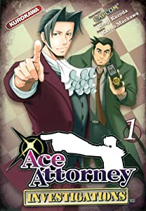 Ace Attorney - Investigations Edition simple Tome 1