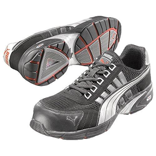 Puma Safety Shoes 47-642530-43, Chaussures de sécurité Adulte Mixte Noir (Schwarz)