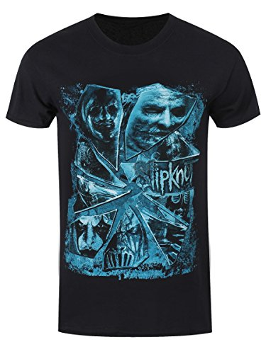 Slipknot T-Shirt Broken Glass da uomo in nero