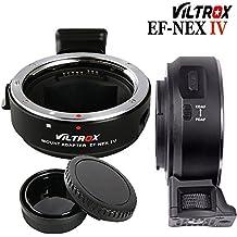 Ewoop EF-NEX IV Viltrox Autofocus adaptateur pour Canon EOS EF EF-S objectif pour Sony E-Mount Caméras de la série Sony NEX A9A7riii A7rii A7ii A7S A7R A7