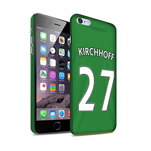 Officiel Sunderland AFC Coque / Clipser Matte Etui pour Apple iPhone 6S+/Plus / Pack 24pcs Design / SAFC Maillot Extérieur 15/16 Collection Kirchhoff