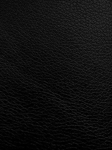 animal-design Kunst-Leder Restposten - 140 cm breit - Farbe weiß, mittel-grau, dunkel-grau, schwarz, braun, Farbe:schwarz